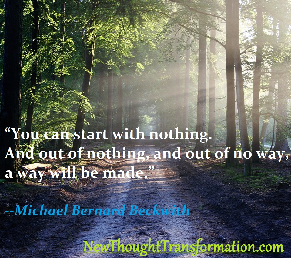 Michael Beckwith Quote and Image