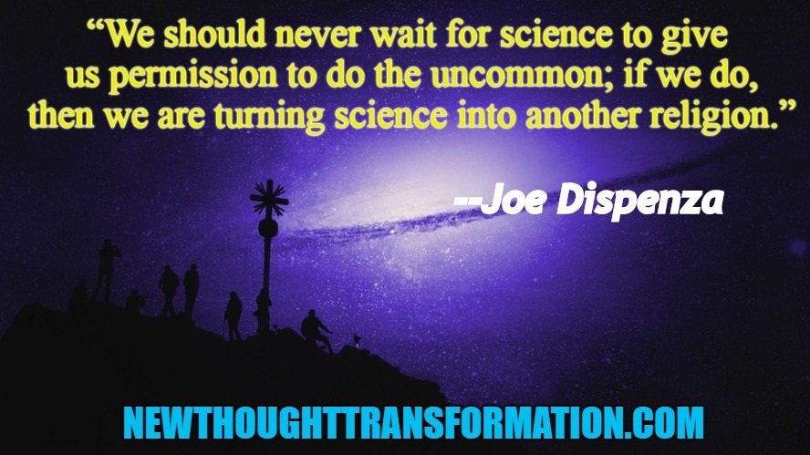 Joe Dispenza Quote and Image